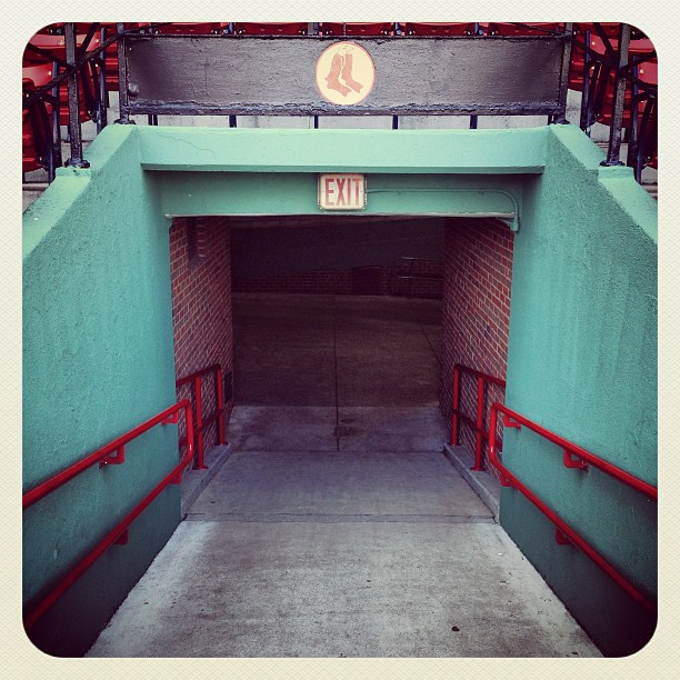 History lesson @ Fenway. Love this ballpark!