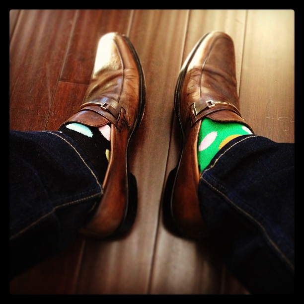 My Tuesday #happysocks. :) cheers @HappySofficial