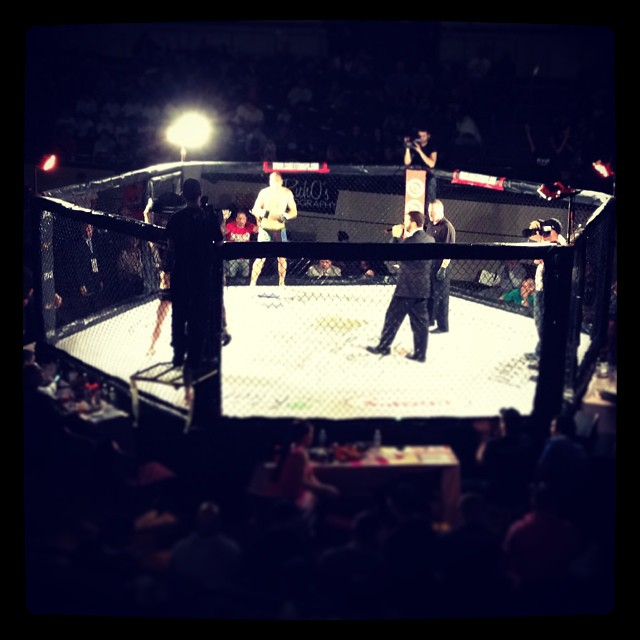 MMA fight night in Plymouth!