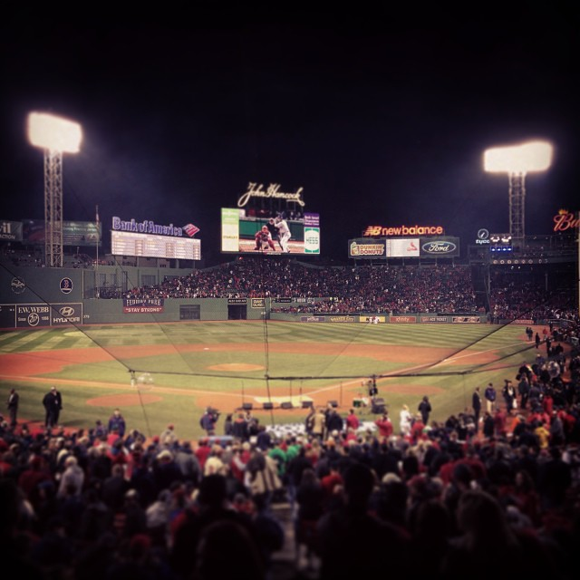 Red Sox are the 2013 World Series Champions!! What an amazing game at Fenway...