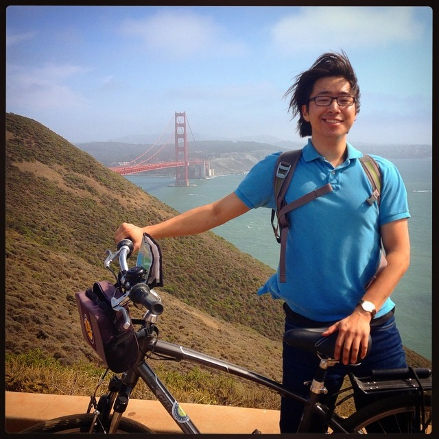 A beautiful (windy!) ride yesterday across the Golden Gate Bridge and up into the hills north of SF! #latergram