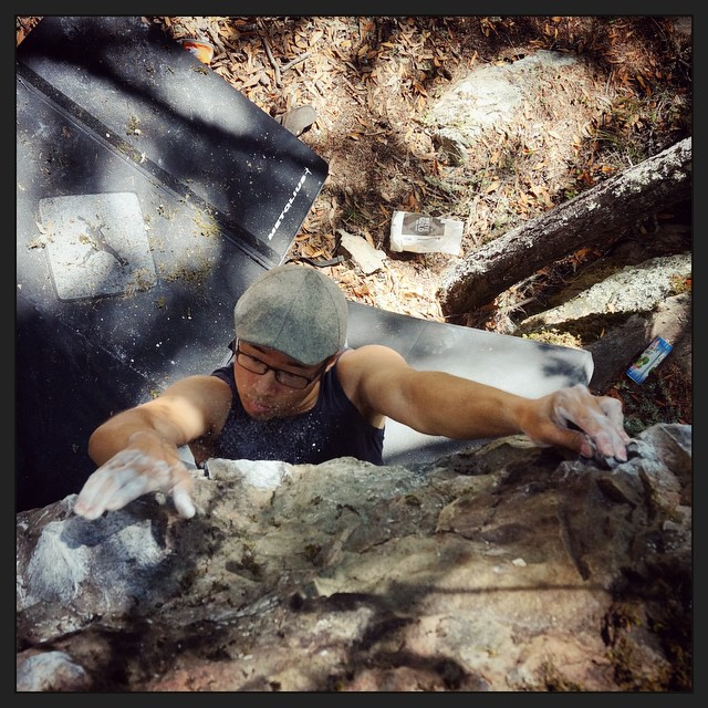 Another killer day of #bouldering out on Mt. Tamalpais. ️