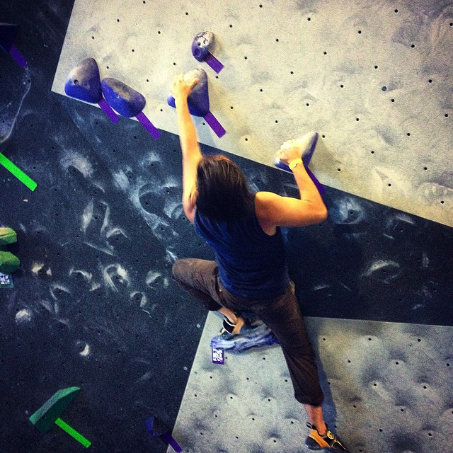 Accidentally entered a #bouldering competition on my first visit to Dogpatch Boulders w @cruxcoder. What an awesome gym!