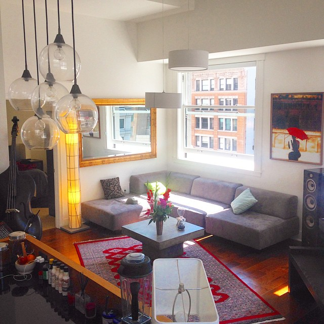 One month in #SF, and the apartment is starting to come together. Happy Labor Day, everyone!!