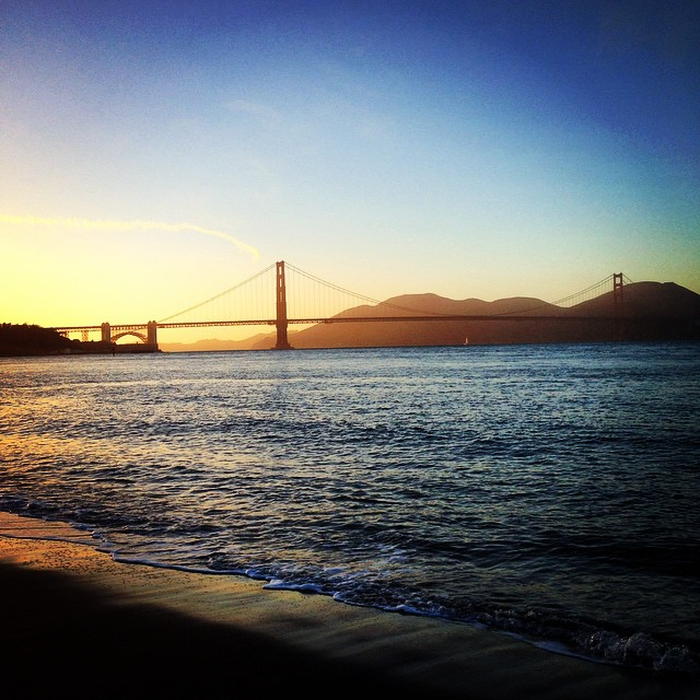 Cleared my head with a twelve mile run out to the Golden Gate Bridge today. #grateful