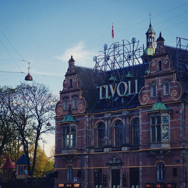 The Tivoli Gardens (or simply Tivoli) is a famous amusement park located within the city of Copenhagen. The park opened on August 15, 1843 and is the second oldest amusement park in the world. #travel #denmark #copenhagen