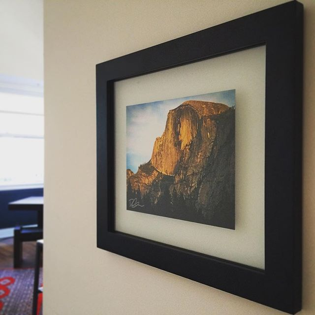 Picture in picture. New print for the apt. #SF #Yosemite #art