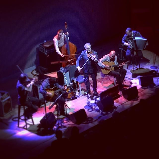 An amazing night with Dorado Schmitt at #SFJAZZ.