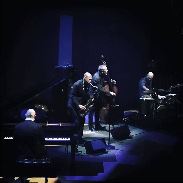 An unreal performance by The Bad Plus + Joshua Redman at #sfjazz.