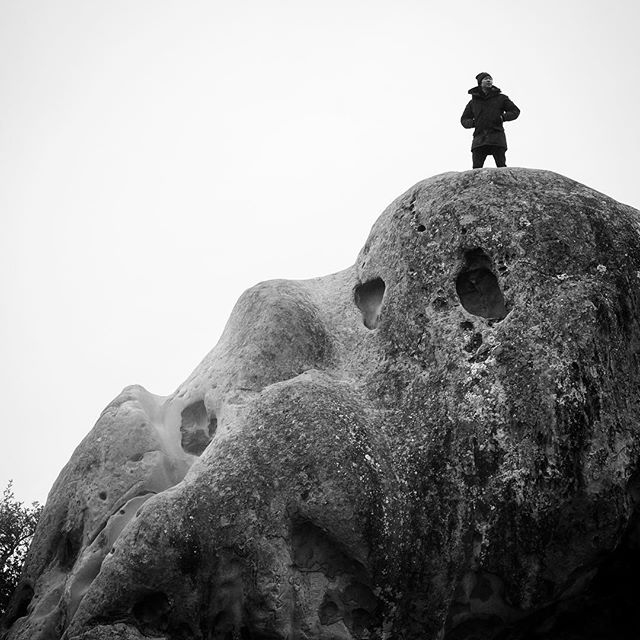Rock City on Mt. Diablo. Can't wait to come back on a dry day with a crash pad. #bouldering