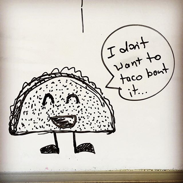 Mid-meeting whiteboard #doodles