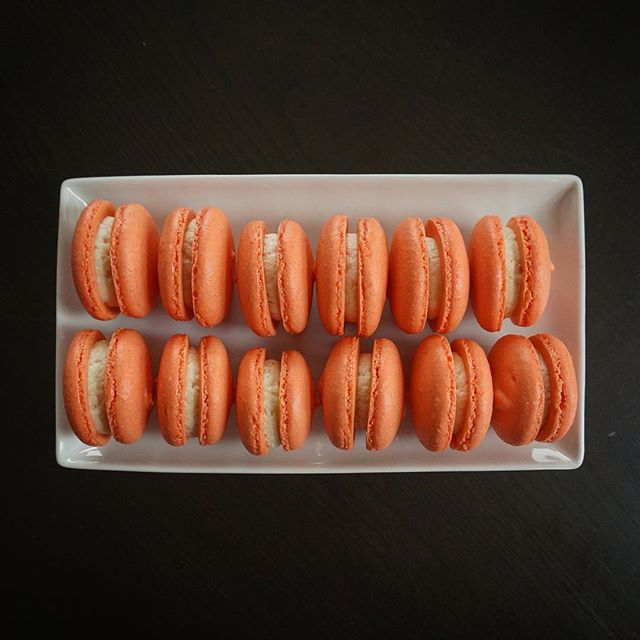 Got sucked into the challenge, but I think third time's the charm. #homemade #macarons