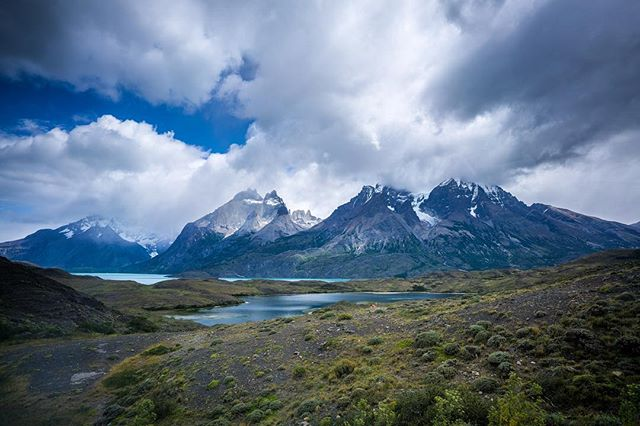 Last shot of the Torres del Paine. Until next time, #patagonia.
