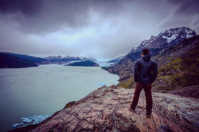 Looking back on mountains conquered in #patagonia.
